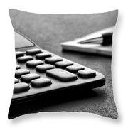 Budgeting  Throw Pillow