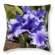 Buds And Bloom Throw Pillow