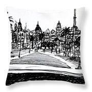 Buenos Aires Argentina  Throw Pillow