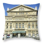 Buenos Aires Opera House - Argentina -  Throw Pillow