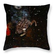 Bufa Toad Throw Pillow