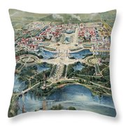 Buffalo 1901 Throw Pillow