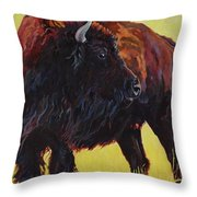 Buffalo Girl Art Print By Patricia A Griffin