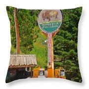 Buffalo Trading Post Throw Pillow