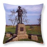 Buford At Gettysburg Throw Pillow