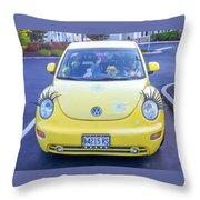 Bug-eyes Throw Pillow