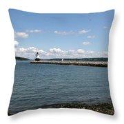 Bug Light Lighthouse 1 Throw Pillow