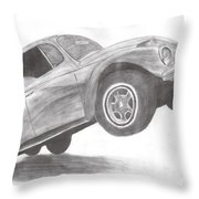 Bug Throw Pillow by Whitney Nanamkin