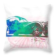 Bugatti Atlantic Watercolor 1 Throw Pillow