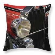 Bugatti Typ 57 Of 1935 Classic Car Throw Pillow