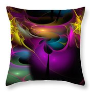 Buggin' Ya Throw Pillow
