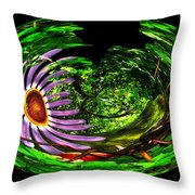 Bugs At The Zoo Ant Throw Pillow