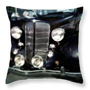 Buick At The Car Show Throw Pillow
