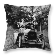 Buick Automobile, C1907 Throw Pillow