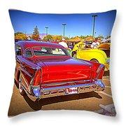 Buick Classic Throw Pillow