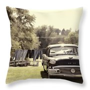 Buick For Sale Two Throw Pillow