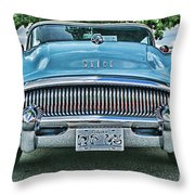 Buick Grills-hdr Throw Pillow