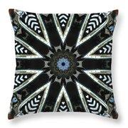 Buick Kaleidoscope Throw Pillow