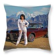 Buick Riviera Lowrider Throw Pillow
