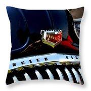 Buick Roadmaster Throw Pillow