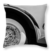 Buick Skylark Wheel Emblem Throw Pillow