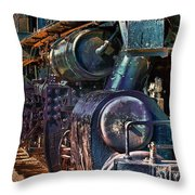 Build For Comfort Not For Speed Throw Pillow by Gunter Nezhoda