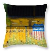 Building America  Throw Pillow