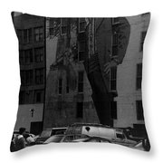 Building Art Throw Pillow