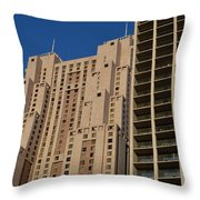 Building Blocks Throw Pillow by Shawn Marlow