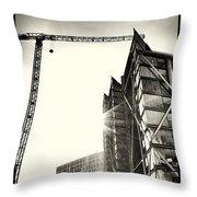 Building London 1 Throw Pillow