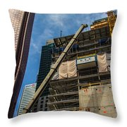 Building Toronto  Throw Pillow