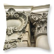 Building Trim Throw Pillow