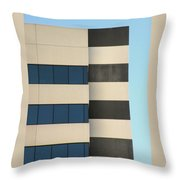 Building Walls Throw Pillow