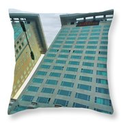 Buildings In China Throw Pillow
