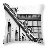Buildings In Maastricht Throw Pillow