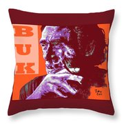 Buk  Throw Pillow