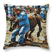 Bulldog It Throw Pillow