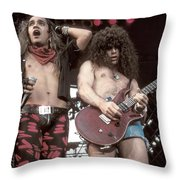 Bullet Boys Throw Pillow