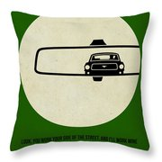 Bullitt Poster Throw Pillow