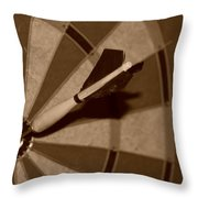 Bullseye Baby Throw Pillow