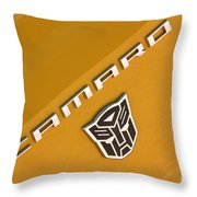 Bumble Bee Logo-7938 Throw Pillow