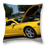 Bumble Bee Side View 7904 Throw Pillow