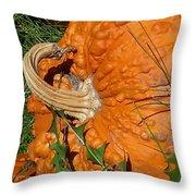 Bumpy And Beautiful Throw Pillow