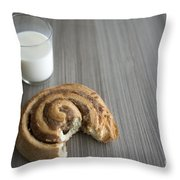 Bun And Milk Throw Pillow