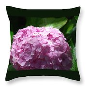 Bunch Of Pink Throw Pillow