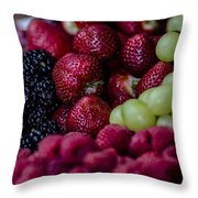 Bundle Ole Fruit Throw Pillow