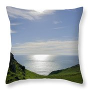 Bunglass - Donegal Ireland Throw Pillow