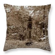 Bunker Airvent Throw Pillow