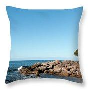 Bunker Bay 02 Throw Pillow