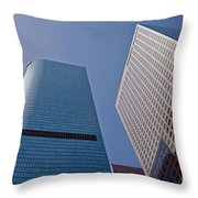 Bunker Hill Financial District California Plaza Throw Pillow